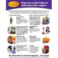 6-5038 Parent Tip Sheet - Halloween Safety - Spanish