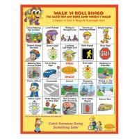 6-3390 I'm Safe! Walk 'n Roll Bingo Game - English