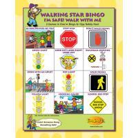 6-3391 Walking Star Bingo Game Front