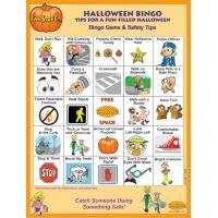 6-4790 I'm Safe! on Halloween Bingo Game - English  Front