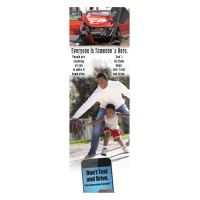 3-6048 Everyone is Someone's Hero Bookmark - English