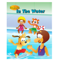 7-1460 I'm Safe! In The Water Storybook - English