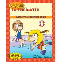 7-1470 I'm Safe! in the Water Activity Sticker Book - English