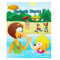 7-2510 I'm Safe! Splash Party Activity Book - English