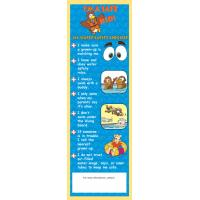 7-3210 My Water Safety Checklist Bookmark - English