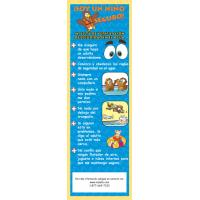 7-3215 My Water Safety Checklist Bookmark - Spanish
