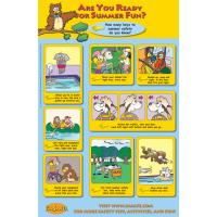 7-3300 Are You Ready for Summer Fun? Poster - English