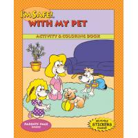 9-3690 I'm Safe! with my Pet Activity Sticker Book - English