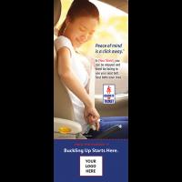 3-8015 Seat Belt - Click It or Ticket - Info-Pledge Card
