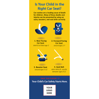 2-8020 The Right Car Seat Info-Pledge Card - NHTSA messaging