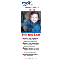FL-BM Florida Booster Law Florida Bookmark - English