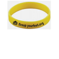 Fire Up Your Feet Silicone Band