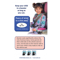 Booster Seat Reminder Screen Cleaner