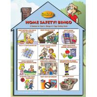 Teaching Cards Oversized Storybook Home Safety Paint Sheet