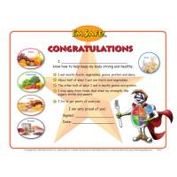 "11-4022 ""My Plate"" Healthy Eating Award Certificate - English"
