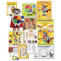 11-4001 MyPlate Nutrition Classroom Teaching Kit