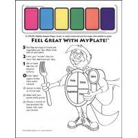 11-4020 MyPlate Paint Sheet - English