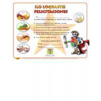 "11-4019 ""MyPlate"" Healthy Eating Award Certificate - Spanish"