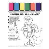 11-4021 MyPlate Paint Sheet - Spanish