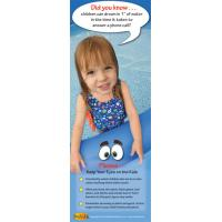 7-1497 Only An Inch Of Water Bookmark - English