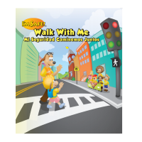 6-2830 I'm Safe! Walk With Me Activity Book - Bilingual