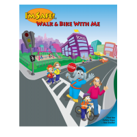 Safe Routes to School Activity Coloring Book