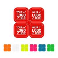 R600 Square Reflective Sticker Sheet