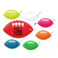 R10 Reflective Football Shaped Zipper Pull