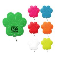 R915 Reflective Paw Print Zipper Pull