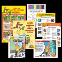 6-4514 Pedestrian & School Bus Safety Spanish Extension Kit