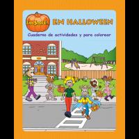 6-4051 I'm Safe! on Halloween Activity Book - Spanish