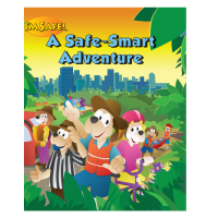 8-1700 I'm Safe! A Safe-Smart Adventure Activity Book - English