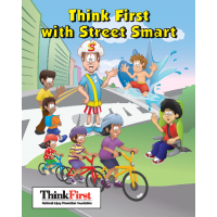 TF-2860 Think First with Street Smart Custom Activity Book