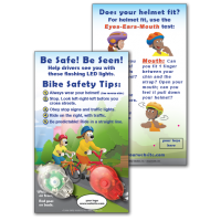 Bike Safety Light Set & Custom Card