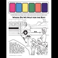 6-1845 Trans Kit School Bus Safety Paint Sheet - English