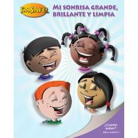 11-5001SC My Bright, Sparkly Smile Activity Book - Spanish