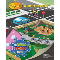 13-1090 I'm Healthy COVID-19 Prevention Activity Book