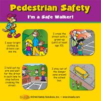 6-3815 Pedestrian Safety Tabletop Display