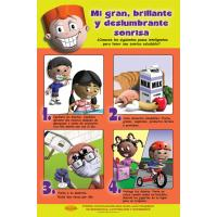 "1-5292SP Dental Health Poster: ""My Big, Bright Sparkly Smile"" - Spanish"