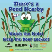 7-3243 Pond Safety Window Cling