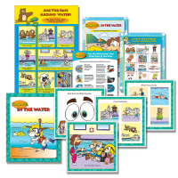 7-1300 Water Safety Teaching Kit for Pre-K — K