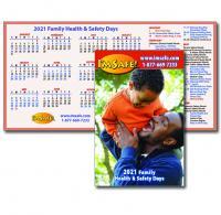 2021 Family Health & Safety Calendar