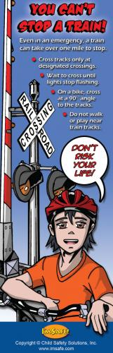 1-3036 You Can't Stop A Train Bookmark 3-6 - English