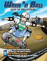 10-4600 Walk 'n Roll Safe to the Xtreme Activity Book