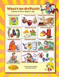 11-4012 Whats on MyPlate Bingo Game - English