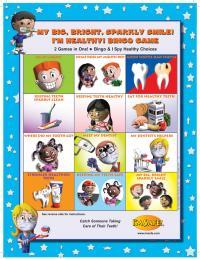 11-5306 Big Bright Sparkly Smile Bingo Game - English