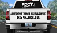 FL3-7012 Pickup Truck - Florida Seat Belt Palm Card