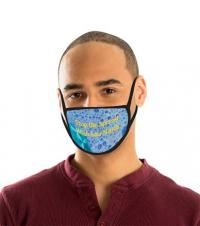 13-1044 Adult Reusable Message Face Mask With Imprint