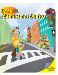 6-1350 I'm Safe! Walk With Me Activity Book - Spanish