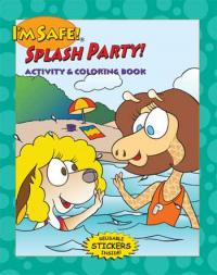 7-2510 I'm Safe! Splash Party Activity Sticker Book - English